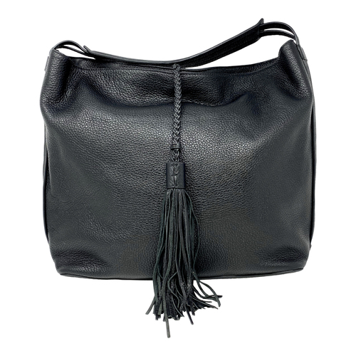 Rebecca Minkoff Tassel Pebbled Hobo Bag-Thumbnail