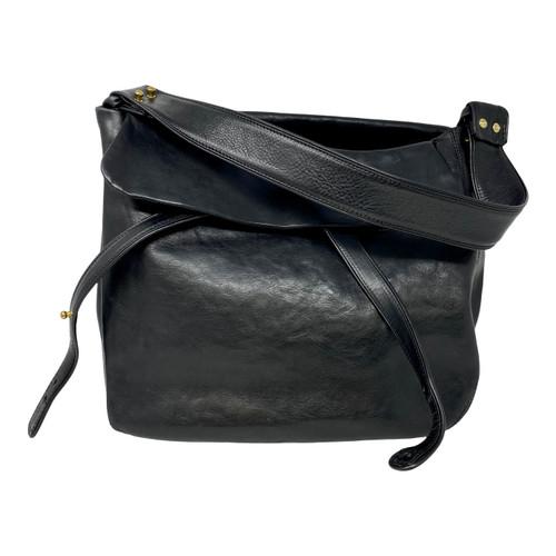 Large Leather Hobo Bag-Thumbnail