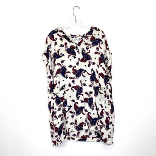 Masai Paisley Pocket Mini Dress- Front
