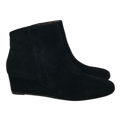 Seychelles Sultry Suede Wedge Bootie-Thumbnail