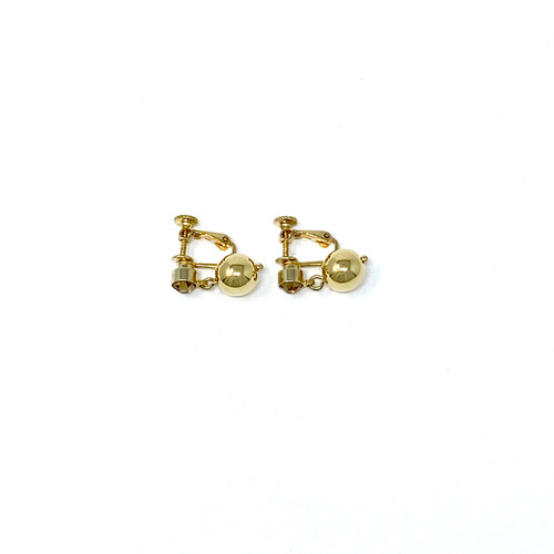 Clip-On Pendant Earrings- Front