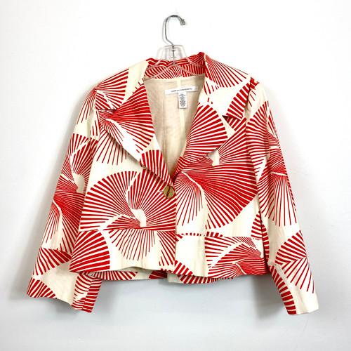 Diane von Furstenburg Swing Jacket- Front