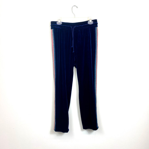 Mother Denim Velour Track Pants- Front