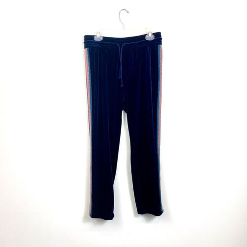Mother Denim Velour Track Pants- Front