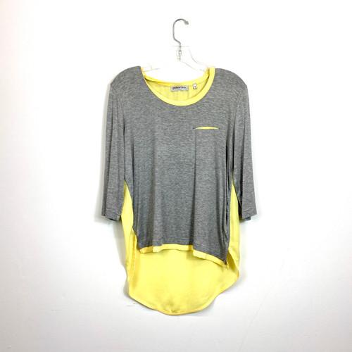 Patrizia Luca High Low T-Shirt- Front