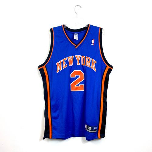 Reebok New York Knicks Troy Jersey- Front