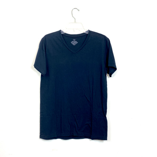 Save Khaki United V-Neck T-Shirt- Navy Front