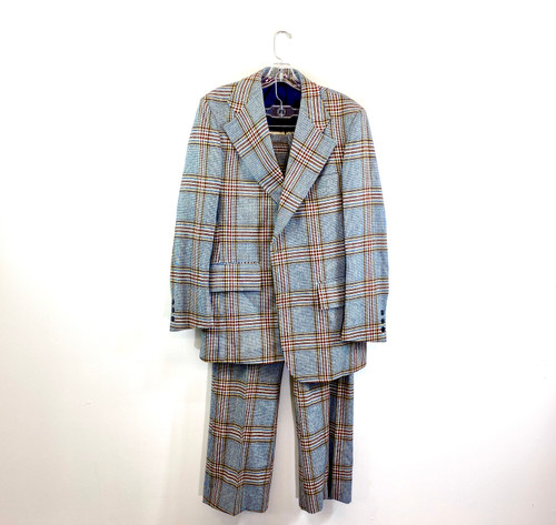 Dovershire Plaid Suit Jacket- Suit