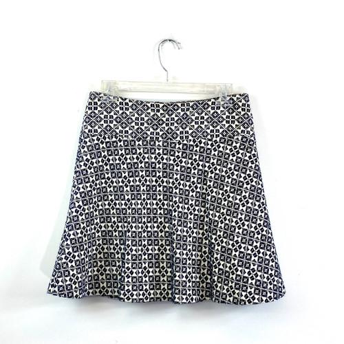Tory Burch Jacquard Skirt- Front