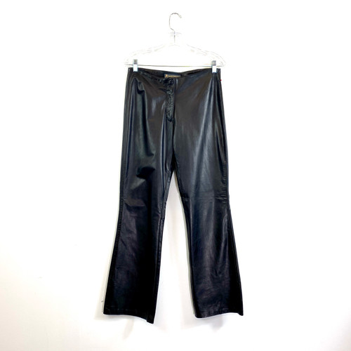 Vintage Leather Pants- Front