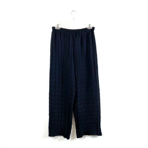 Babette Pleated Grid Culottes- Front
