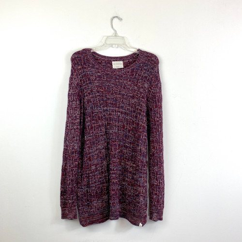 On the Byas Rag Knit Sweater- Front