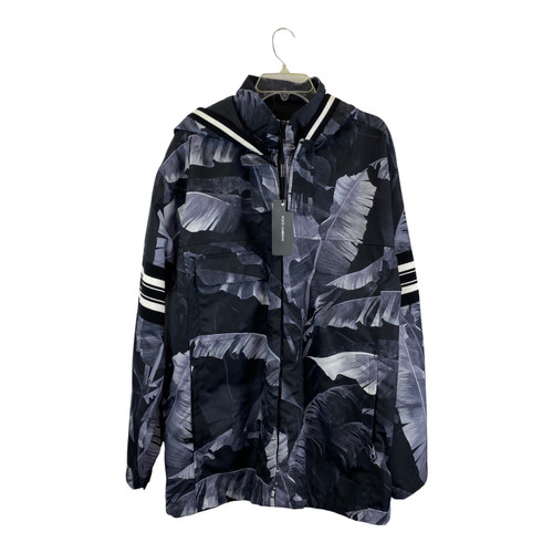 Dolce & Gabbana Banana Leaf Hooded Jacket-Thumbnail
