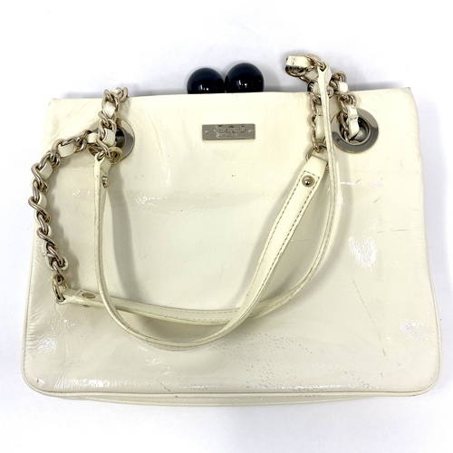 Kate Spade Patent Top Handle Bag- Front