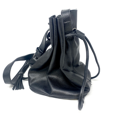Crossbody Bucket Bag- Front
