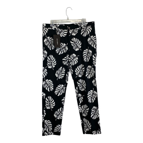 Dolce & Gabbana Palm Leaf Print Trousers-Thumbnail