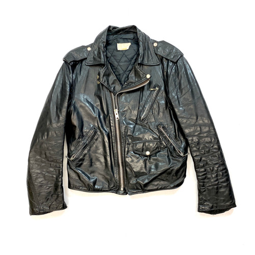 Distressed Biker Jacket- Front