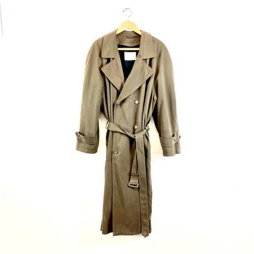 Bill Blass Double Breasted Trench Coat- Front
