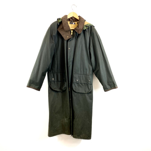 John Partridge Oil Cloth Parka- Front