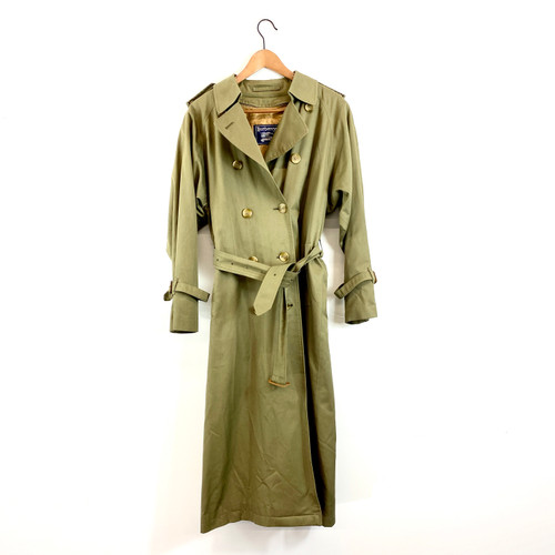 Vintage Burberry Trench Coat- Front