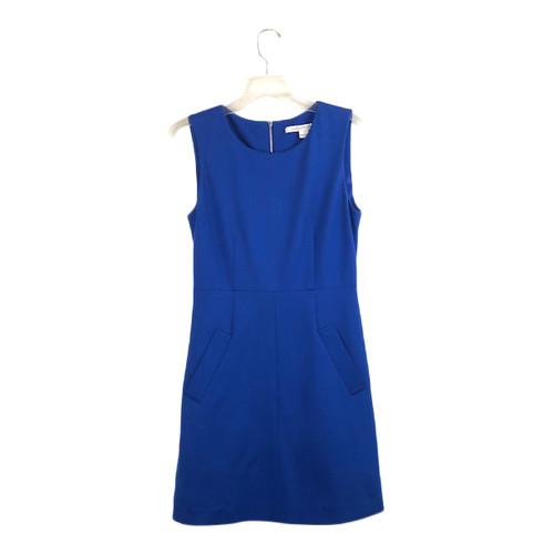 Diane von Furstenberg Blue Dress- Front