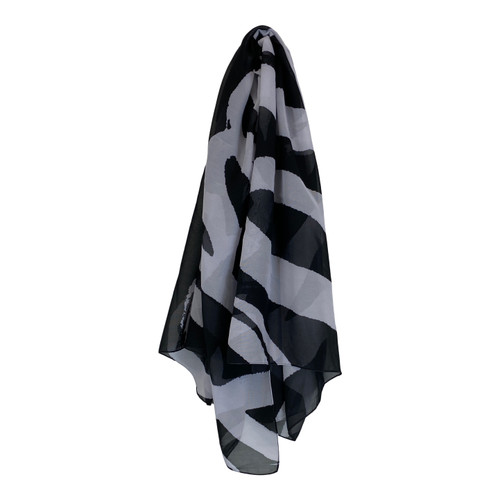 Patricia Fields Sheer Graphic Scarf-Thumbnail