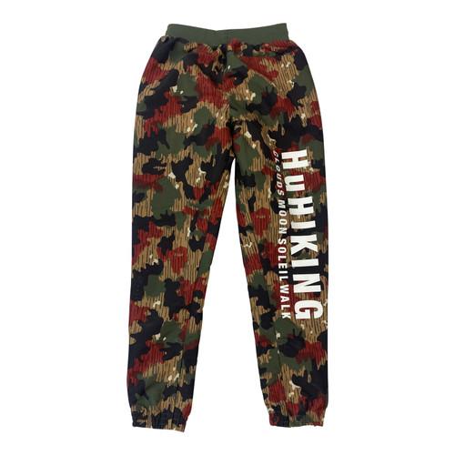 Adidas x Pharrel Camo jogger wind pant-front