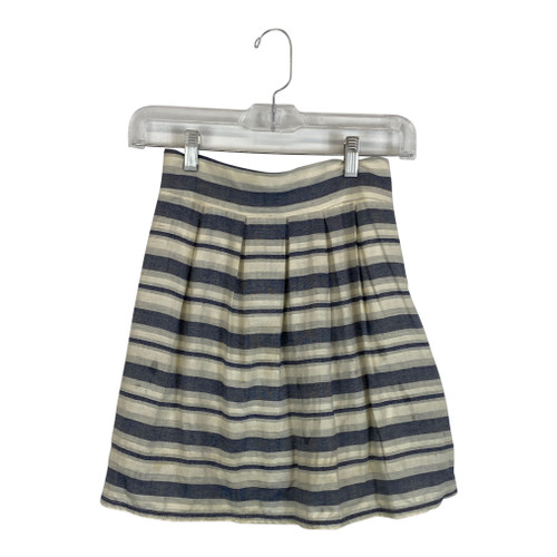 Striped Skirt-Front