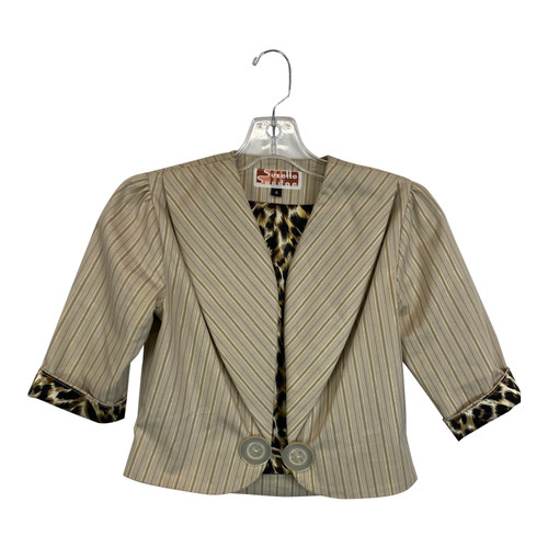 Suzette Sundae Striped Blazer-Front