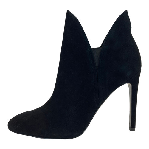 Kendall + Kylie Black Bootie-side view 2