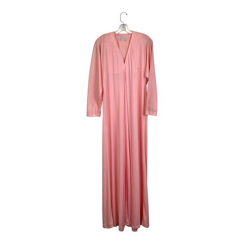 Halston Front Slit Maxi Dress-Front