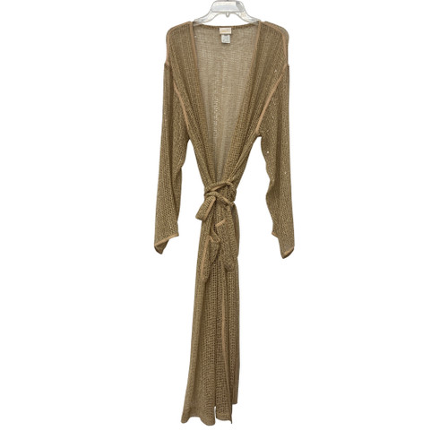 Gottex Mesh Sequin Robe-Tied