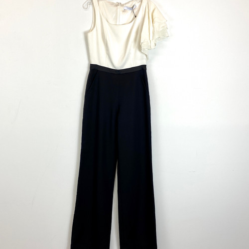 Kimora Lee Simmons Ruffle Sleeve Jumpsuit- Front
