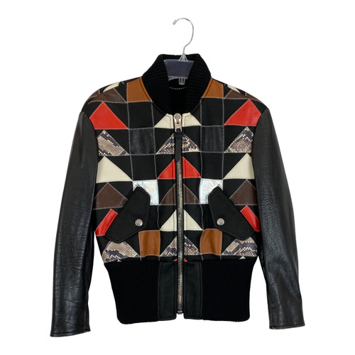 Coach Patchwork Leather Jacket-Thumbnail