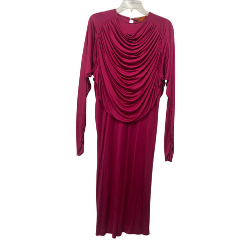 Vintage Missoni Draped Jersey Dress- Front
