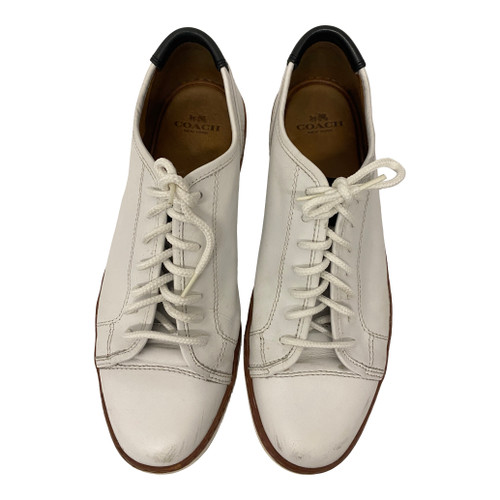 Coach Leather Low Top Tennis Shoes-Thumbnail