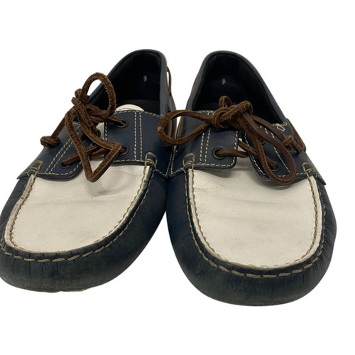 Tod's Two Tone Boat Shoes-Front