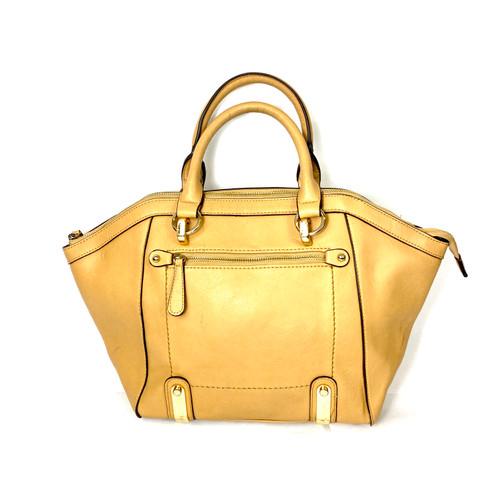 Large Faux Leather Handbag- Front
