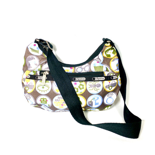 LeSportSac Icon Print Crossbody Bag- Front