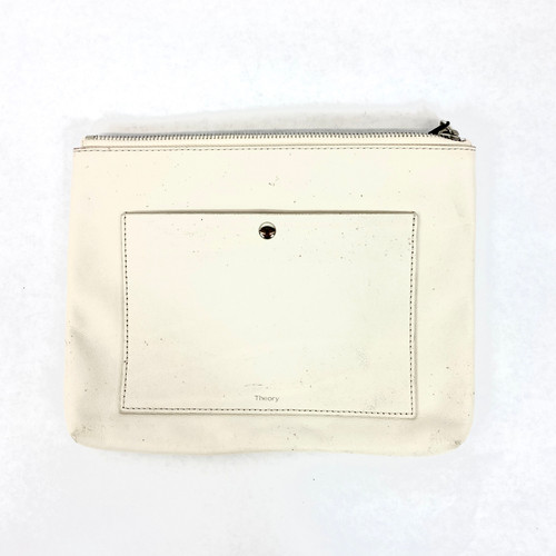 Theory Zippered Clutch- Front