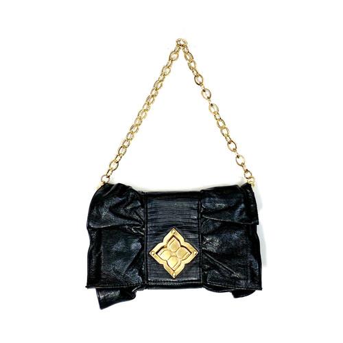 BCBG Bow Shoulder Bag- Thumbnail