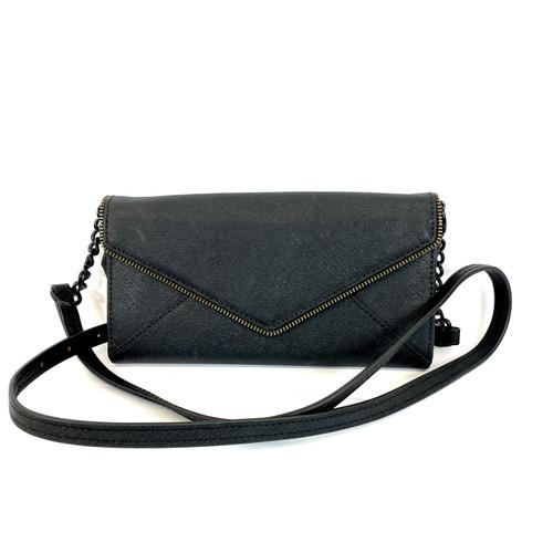 Rebecca Minkoff Textured Envelope Crossbody Bag- Front