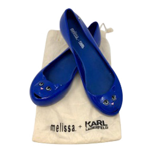 Melissa + Karl Lagerfield Cat Shoes front