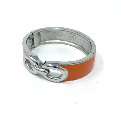Enamel Hinge Bangle- Thumbnail
