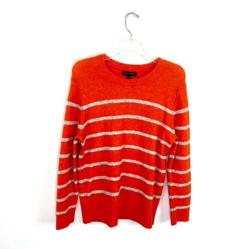 Banana Republic Striped Plush Sweater- Front