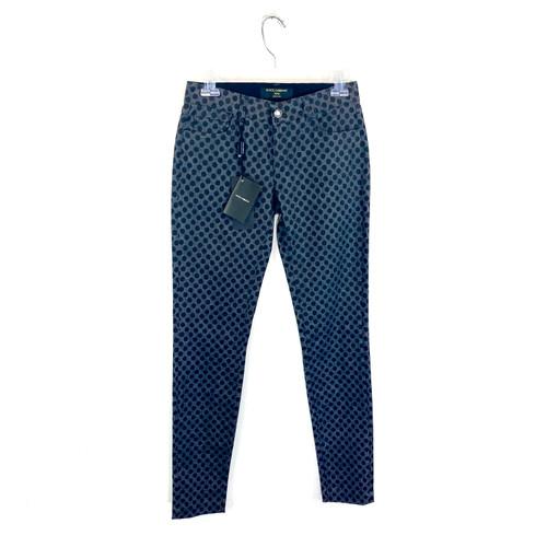 Dolce & Gabbana Polka Dot Skinny Jeans- Front