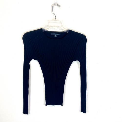 Banana Republic Rib Knit Body Con Sweater- Front