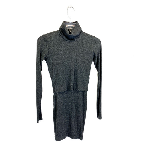 Nadia Tarr Rib Knit Skirt Set- Front