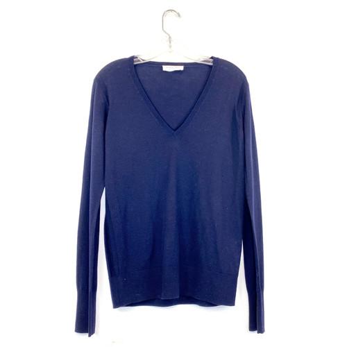 Everlane Deep V-Neck Sweater- Front