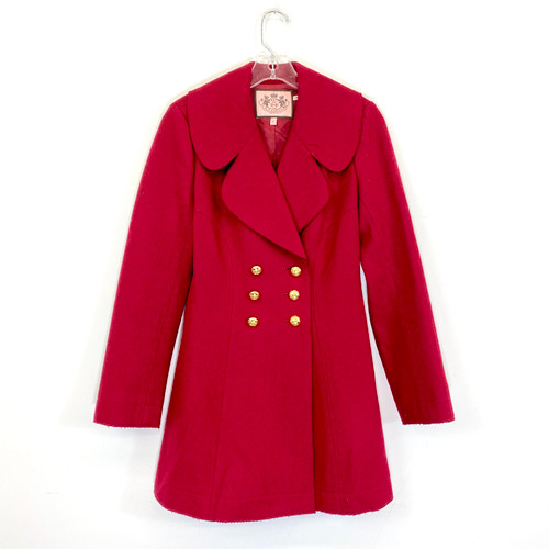 Juicy Couture Naval Pea Coat- Front